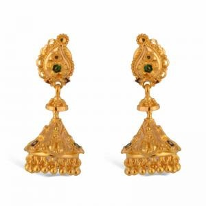 gold earring design in Bangladesh