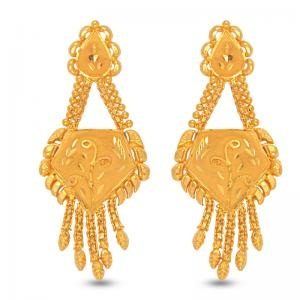 gold earring design in bangladesh 2