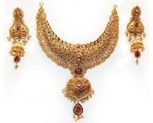 Amin jewellers gold necklace 2